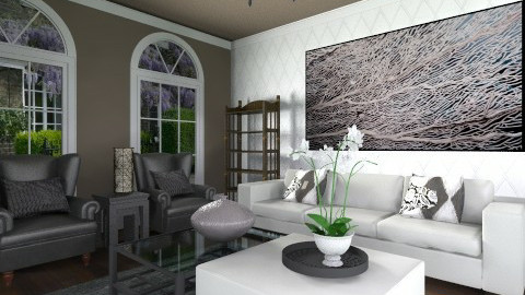 Traditional meets Modern - Eclectic - Living room  - by Ana Mercedes