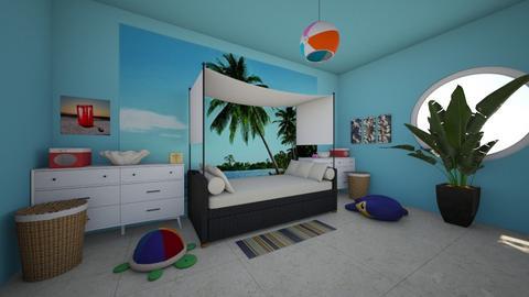 color design challenge  - Bedroom  - by jesus g