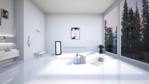 minimalist bathroom - Minimal - Bathroom  - by s_ku