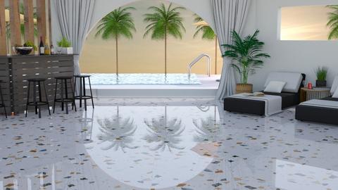 Hotel Pool Betty Malaga  - by BettyMalaga