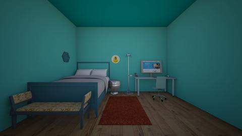 skeppys room - Bedroom  - by crying_room