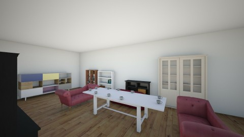 Living Room  - Minimal - Living room  - by antonia tafro