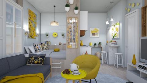 M_Downtown small apartmen - by milyca8