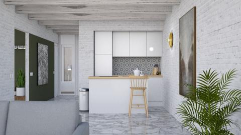 Minimal space - Minimal - Kitchen - by HenkRetro1960