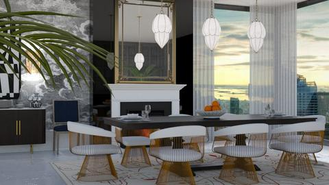 Glam1 - Glamour - Dining room  - by AlSudairy S