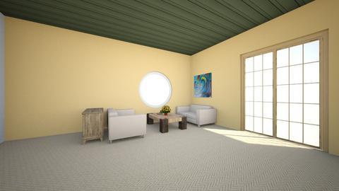 den - Living room  - by danlyngen