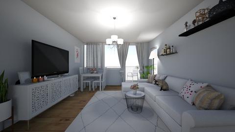 Salon na Rejtana - Living room  - by exotae09