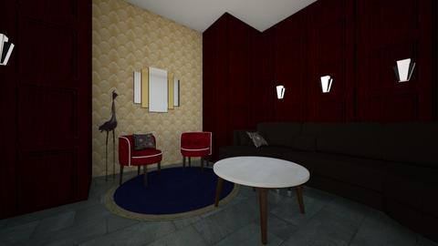 Art Deco Living room  - Living room  - by Tatumhayes3
