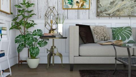 Patterns - Living room  - by GoliaNova