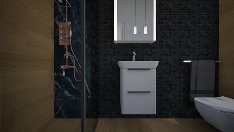 Cologno bagno ospiti10 - Bathroom - by natanibelung