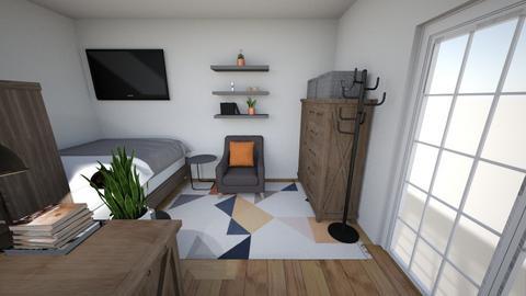 STUDIO LIVING AREA - Bedroom - by Tiny_Bubbles