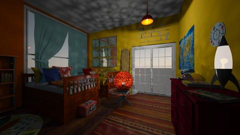 childrens texture room - Kids room  - by LHSHousing