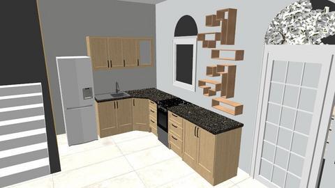 Kitchen_Retro_RM_2 - Retro - Kitchen  - by BoazHarrosh