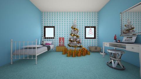 My dream room - Glamour - Bedroom  - by Tahlia2005