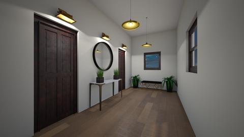 Hallway - by AfroditeGoldie