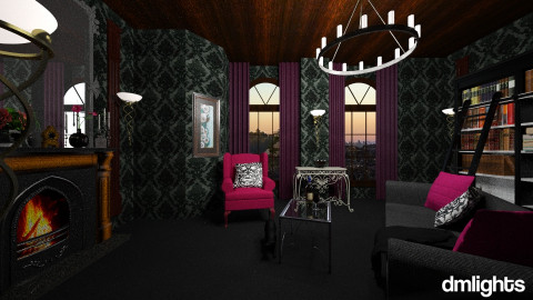 gothic casle - Living room - by DMLights-user-1118154
