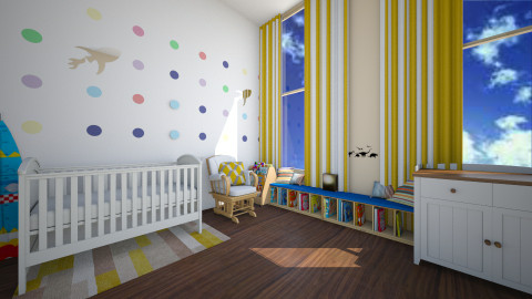nursery 2 - Kids room  - by xxcaraxx
