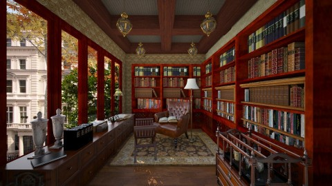 221b Baker Street - Office  - by La Ponno