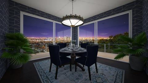 Condo Dining With A View - Classic - Dining room - by nicquo40