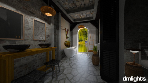 guilford design - Vintage - Bathroom - by DMLights-user-982918