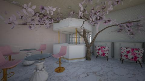 Sakura Pink Eating Spot - Glamour - by MiDesign