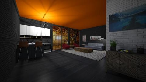 For Noa Jones - Living room  - by Tanem Kutlu