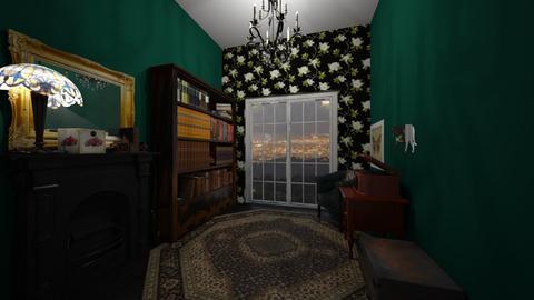 Victorian themed entryway - by ashlynnblarson