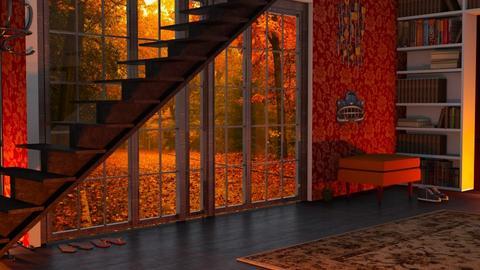 Autumn hall - by Nari31