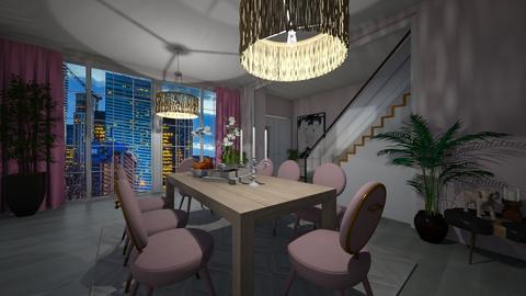 Scandinavian dining room - Dining room  - by victoriakandy