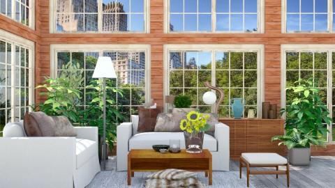 RusticChicLivingRoom - Rustic - Living room  - by Mihailovikj Mimi
