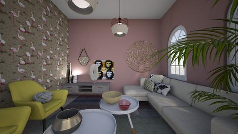 artist - Living room  - by LiselleA