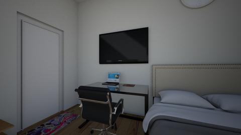 Jayvee Madriaga Nacino - Bedroom  - by AkazayaNine