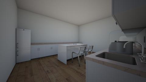 Kitchen - Modern - Kitchen  - by oliviamarieottis