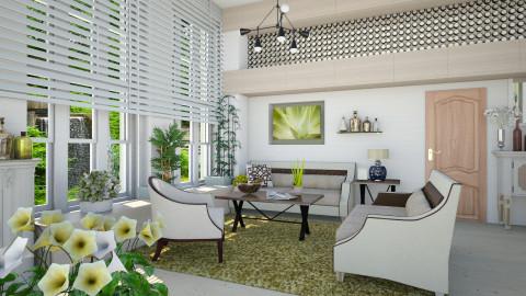 M_Aloe - Living room  - by milyca8