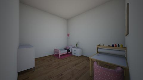 Bedroom for toddler girl - Kids room  - by unknowndude