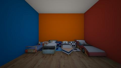 boys adopt bedroom  - Bedroom  - by crying_room