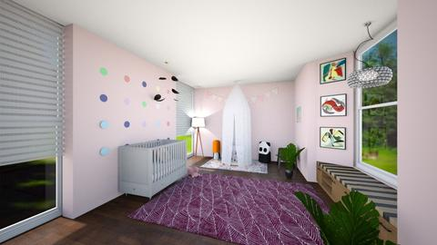 kids room - Bedroom - by pandabearjames