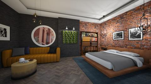 Industrial Twist - Bedroom - by Ginntare