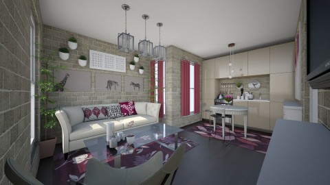 small appartament - Modern - Living room - by steeeev