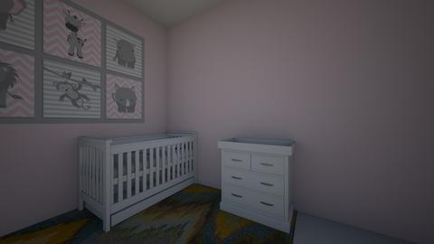 nursery bad DONE7_10_20 - Kids room  - by SunshineAllie