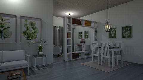 minimal - Living room  - by allday08