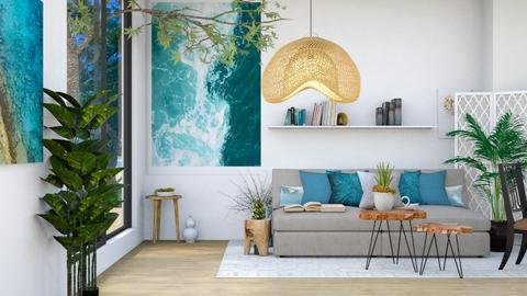 Beach House Room - Modern - Living room  - by wijesinghe
