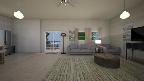Loft Style Cabin - Living room  - by mspence03