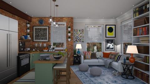 Lexington - Eclectic - Living room  - by _zeynp_ik