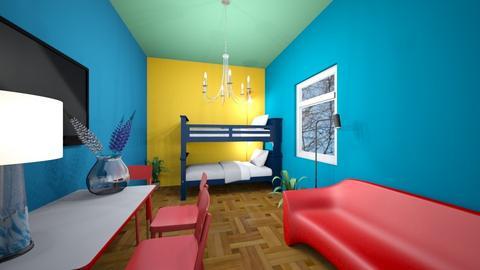 kids room - Kids room - by WoodenWorkShop