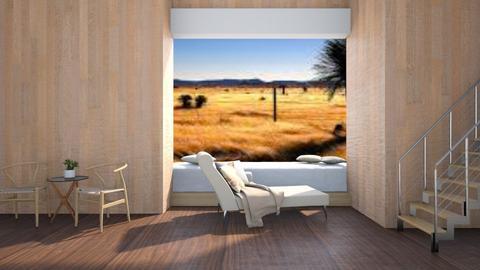 Southwestern - Rustic - Living room - by stephendesign