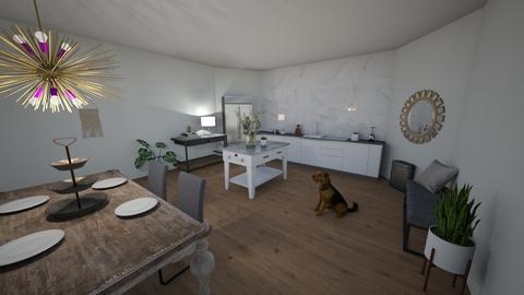 Kitchen 1 - Dining room  - by DelaneySchermer