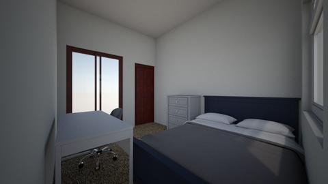 habitacion de cristian  - Modern - Bedroom  - by cristianmoraalcazar