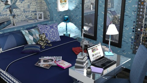 my blue - Classic - Bedroom  - by donella