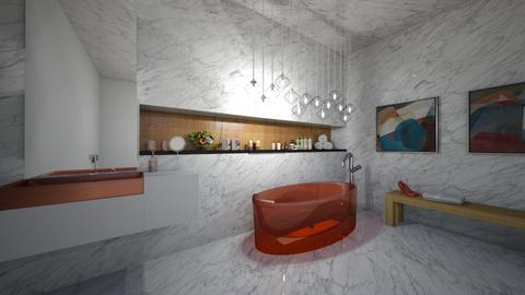 luxury bathtub - by home peachome